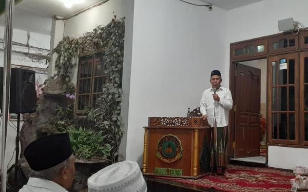 Dalam Haul Kiyai Fattah, Kiyai Marzuki: Bacaan Al Quran Itu Ada Guna Dan Barokahnya
