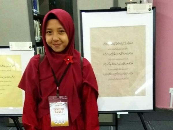 Alumni Muallimat Juarai Kompetisi Kaligrafi Internasional